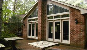 Exterior of Laurel Cottage in Williamsburg, VA