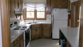 Kitchen Inside Cottage in Williamsburg, VA