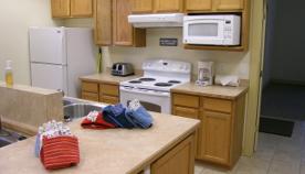 Cabin Rental Kitchen