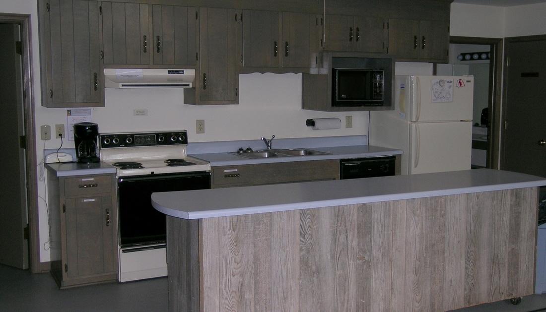 Kitchen Inside Laurel Cottage in Williamsburg, VA