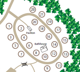 RV Camground Site Map WCRC