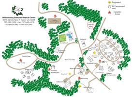 retreat center map