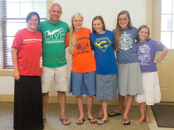 WCRC Retreat Center Family Reunion